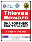 Forensic Property Marking Sign